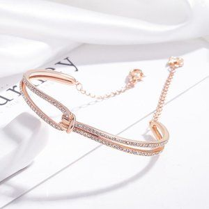🎉SWAROVSKI LIFELONG bracelet rose gold